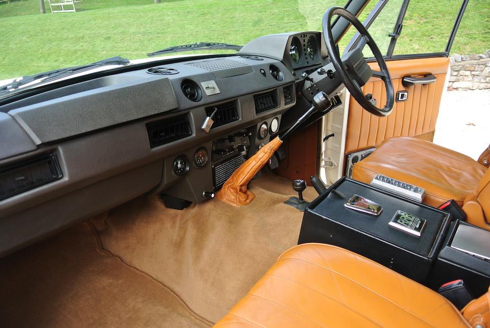 First owned by Black Sabbath guitarist, Tony Iommi,1982 Range Rover 'Monteverdi' 4x4 Estate  Chassis no. SALLHARV1AA115843 Engine no. 11D01788