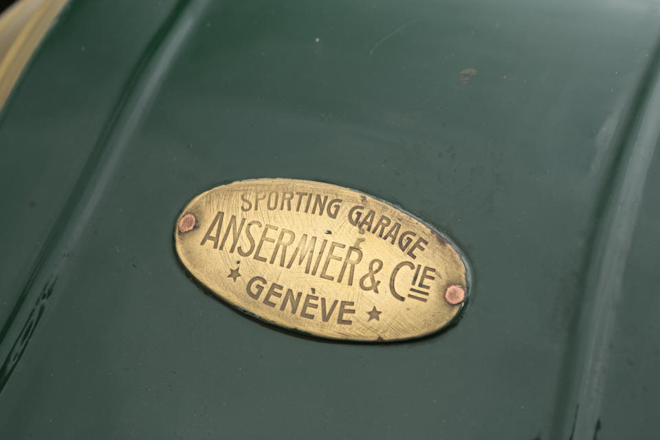 1912 Renault AX Tourer Project  Chassis no. 575 Engine no. 3385