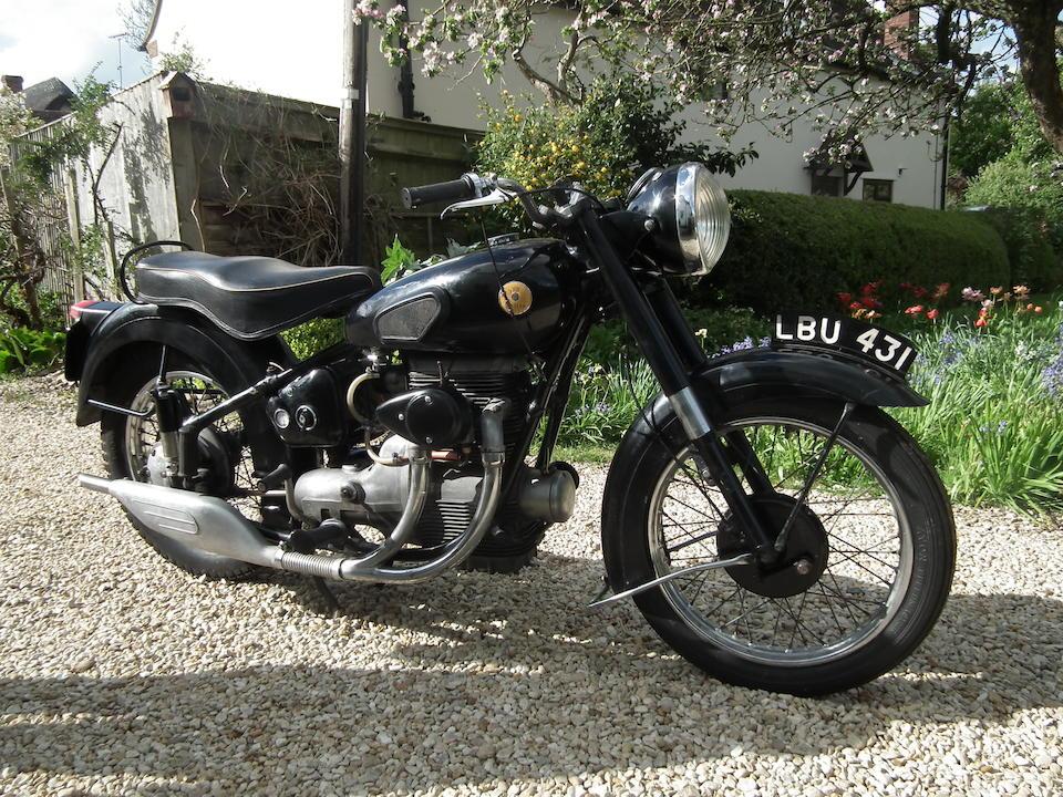 1955 Sunbeam 489cc S8 Frame no. 7700 Engine no. S8 12573