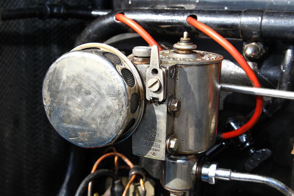 Ex-Stalter/Brisson, 3e aux 24 Heures du Mans 1925,Lorraine-Dietrich B3-6 Le Mans Torpédo Sport 1925