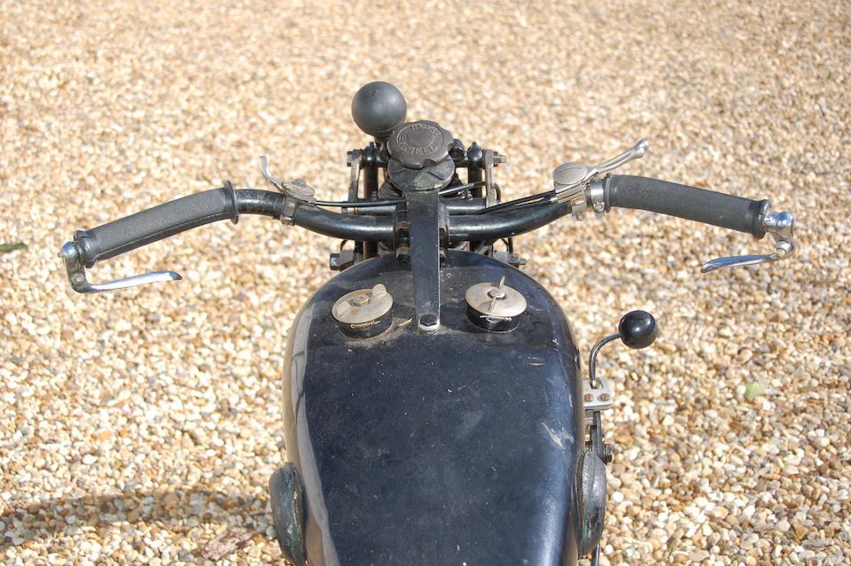 1928 Royal Enfield 350cc Sports Frame no. 3493 Engine no. 4651L
