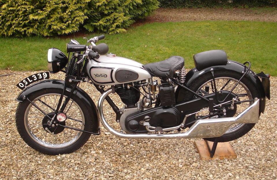 1936 Norton 490cc Model 18 Frame no. 58498 Engine no. 62253