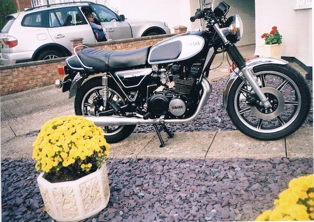 1979 Yamaha XS750 Frame no. IT500 7651 Engine no. 7651