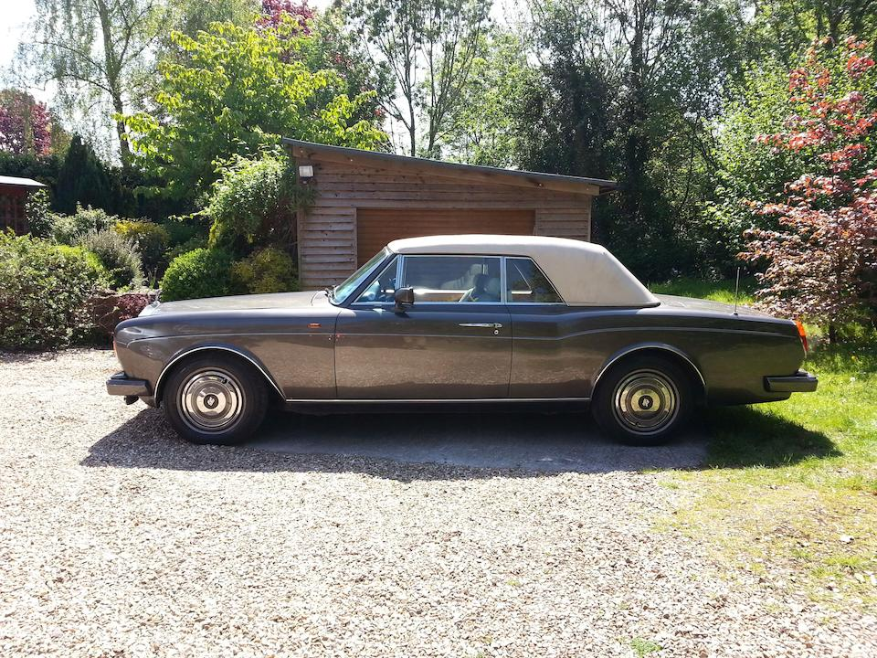 From the Estate of the late Malcolm Henderson, three owners and c.55,500 miles since new,1989 Rolls-Royce Corniche II Convertible  Chassis no. SCAZD00A7KCH29208 Engine no. 67601L410I9