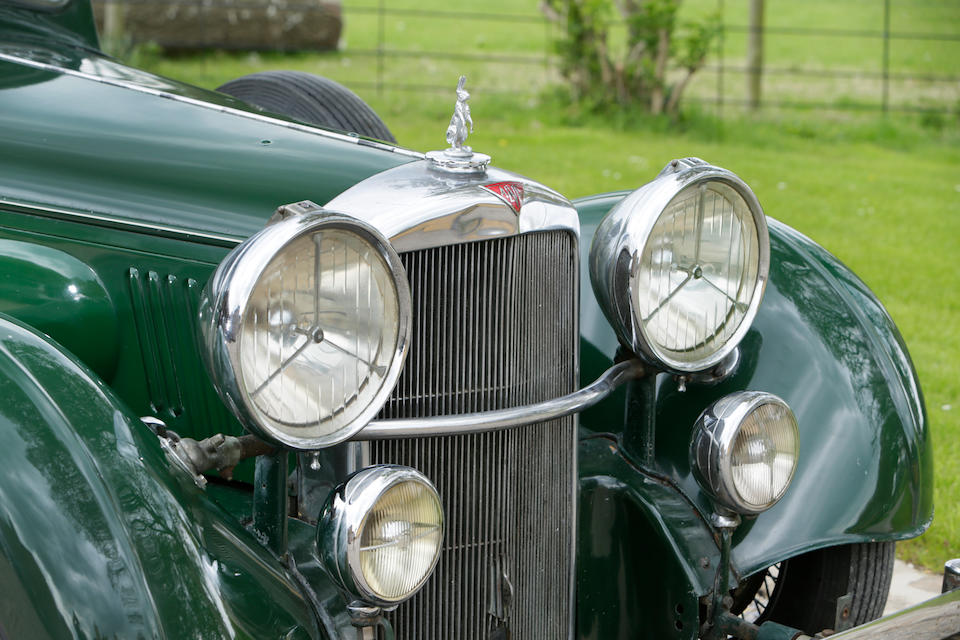 1937 Alvis 4.3-Litre Sports Saloon  Chassis no. 18621