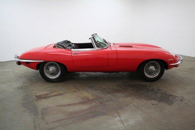 1970 Jaguar E-Type Series 2 Roadster  Chassis no. 1R12801
