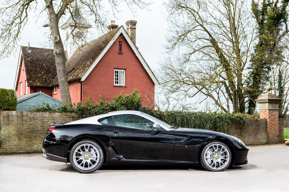 2008 Ferrari 599 GTB Fiorano Coupé  Chassis no. ZFFFD60B000164145