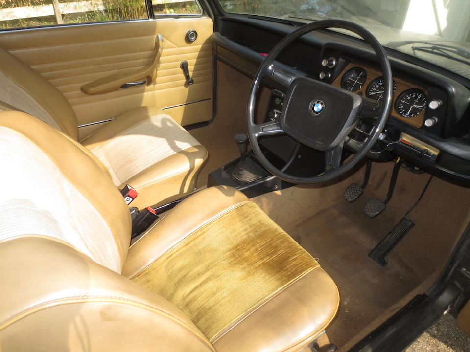One owner, 41,000 miles from new,1974 BMW 1602 Saloon  Chassis no. 356 0711