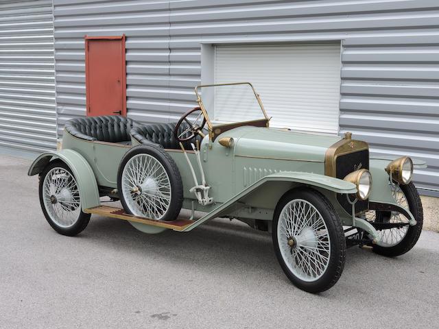 1913 Hispano-Suiza Alfonso XIII Torpedo Tourer  Chassis no. 2001 Engine no. 2174