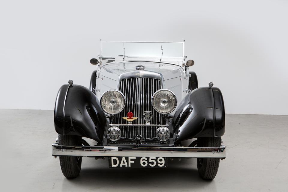 1937 Aston Martin 2.0-Litre 15/98 Tourer  Chassis no. D7/766/LT Engine no. D7/766/LT