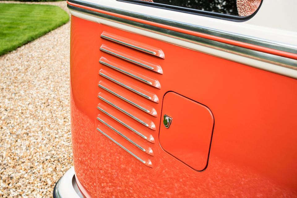 1960 Volkswagen Type 2 Devon Samba Deluxe Micro Bus  Chassis no. 609715 Engine no. 3535134
