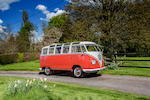 1960 Volkswagen Type 2 Devon Samba Deluxe Micro Bus  Chassis no. 609715 Engine no. 3535134