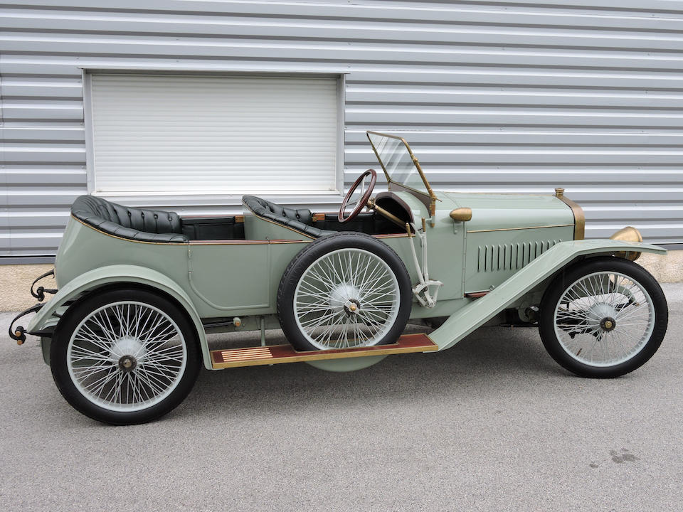 1913 Hispano-Suiza Alfonso XIII Torpedo Tourer  Chassis no. 2001 Engine no. 2174