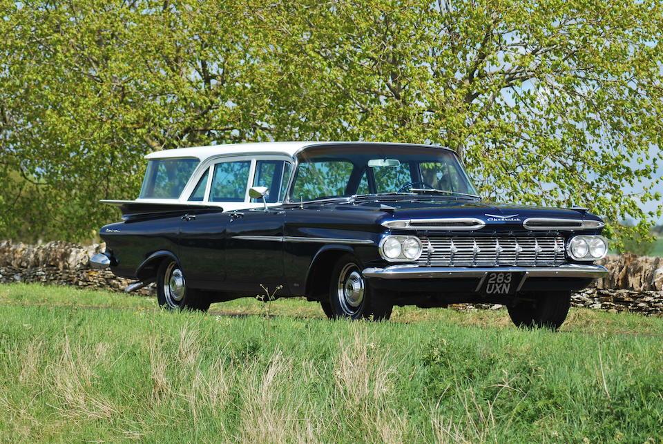 Bonhams 1959 Chevrolet Brookwood Station Wagon Chassis No