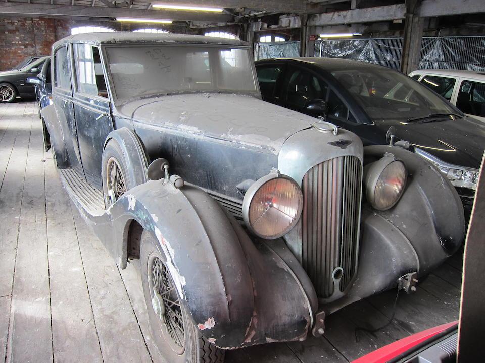 1939 Lagonda V12 Sedanca De Ville Project  Chassis no. 18018 Engine no. 18018