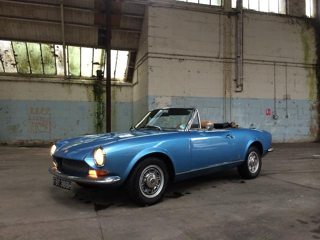 1970 FIAT 124 Spider  Chassis no. 124BS0030513