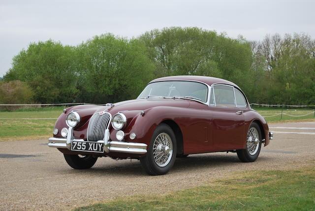 1958 Jaguar XK150 3.4-Litre Coupé  Chassis no. S835830DN Engine no. V5609-8