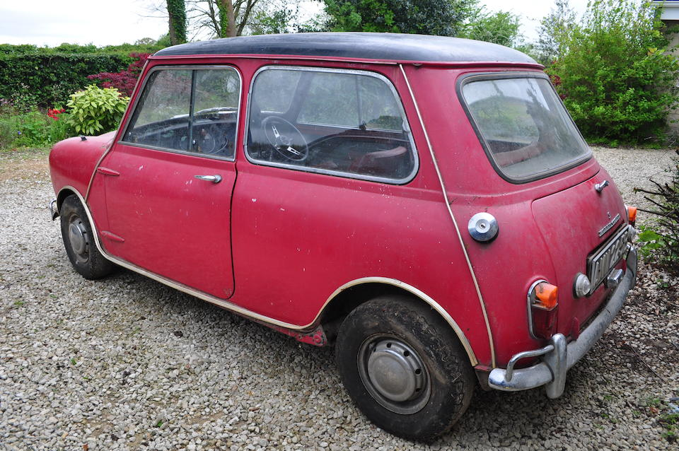 1964 Morris Mini Cooper 'S' 1,071cc Sports Saloon  Chassis no. K/A2S4 489079 Engine no. 9FSAH 33099
