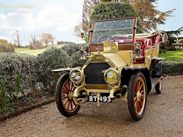 1909 Belsize 14/16hp 'Roi des Belges' Tourer  Engine no. G78
