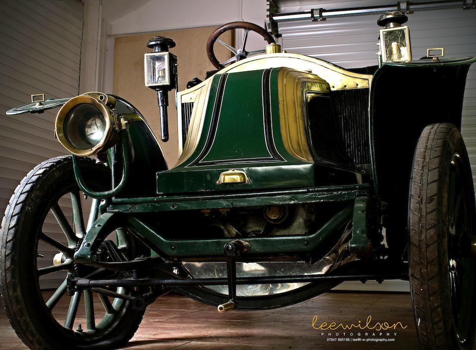 1909 RenaulT 8hp AX Tourer  Chassis no. 17865 Engine no. 5283