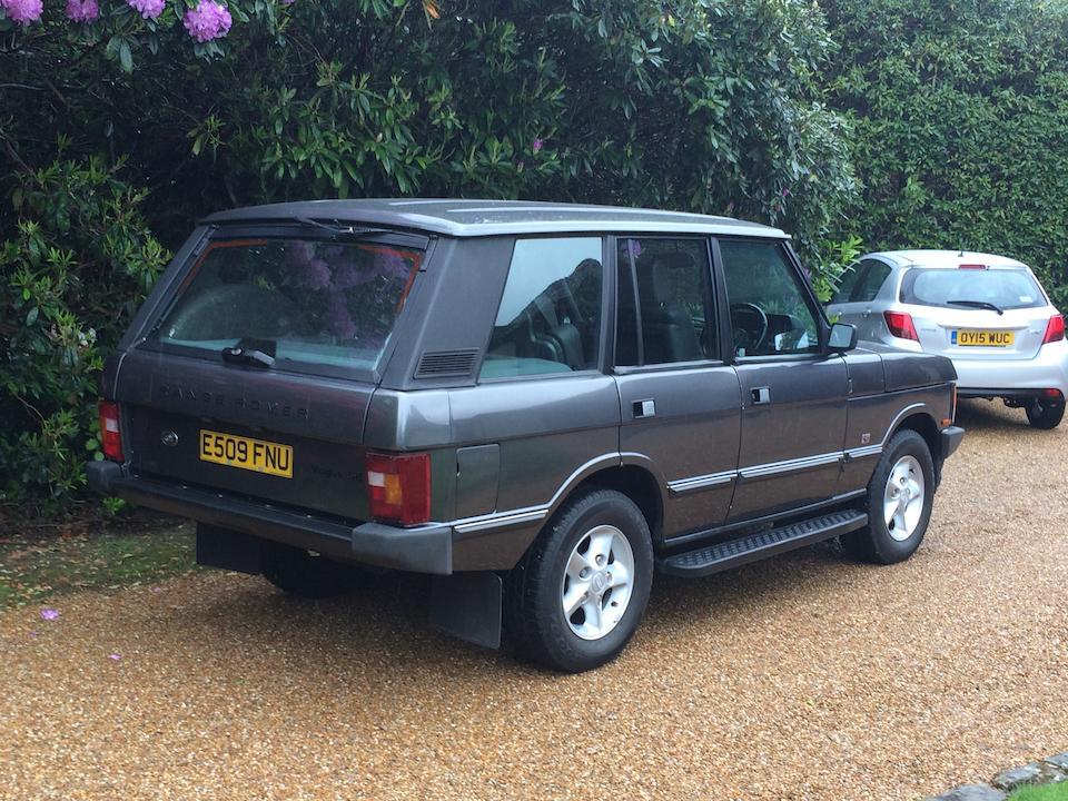 1988 Range Rover Vogue 4x4 Estate  Chassis no. SALLHAML3EA331449 Engine no. 25D12065B