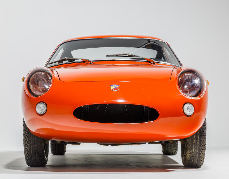 From the Maranello Rosso Collection,1961-2 Fiat Abarth Monomille GT Coupe  Chassis no. 1128103