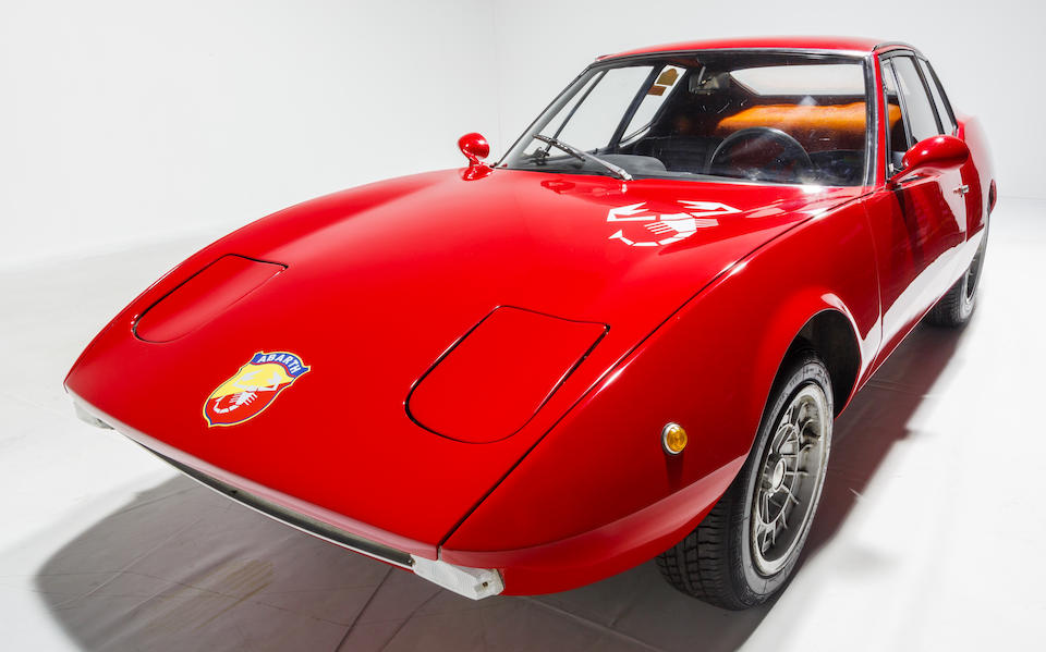 From the Maranello Rosso Collection,1968 Fiat-Abarth  SS Scorpione-Fiat 1000 GT / Francis Lombardi   Chassis no. 141/0049
