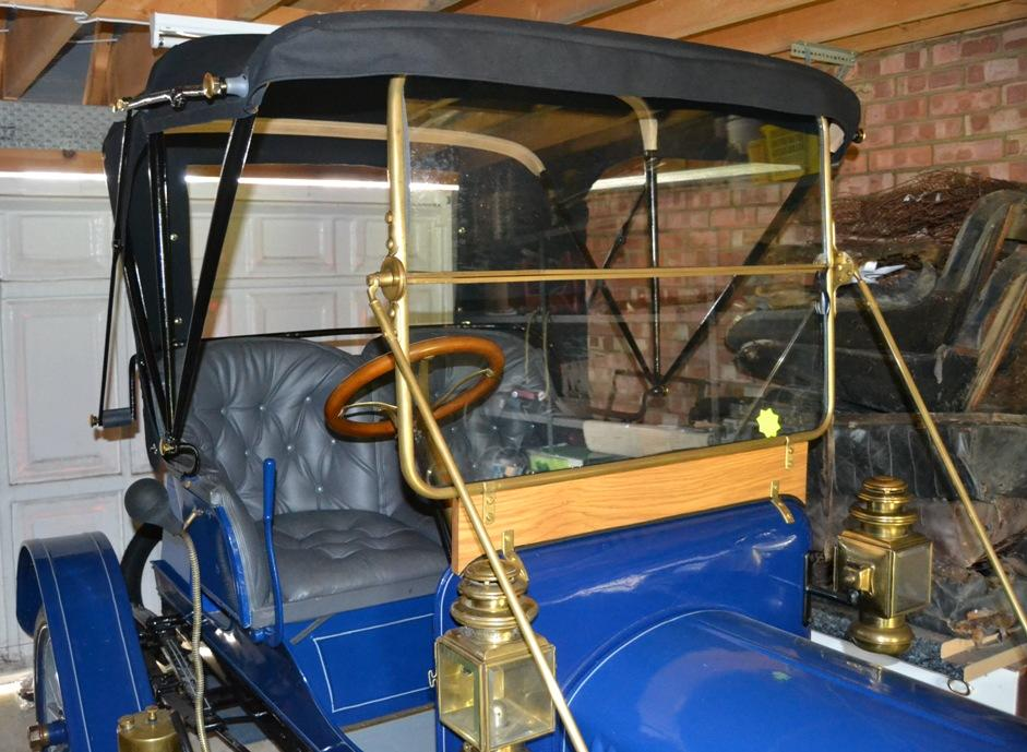 1911 Maxwell 14hp Model AB Twin-cylinder Runabout  Engine no. AB14976