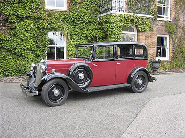 1935 Armstrong-Siddeley 17hp Saloon  Chassis no. 69030 Engine no. 4896