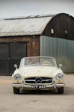 1962 Mercedes-Benz 190 SL Convertible with Hardtop  Chassis no. 12104210025171
