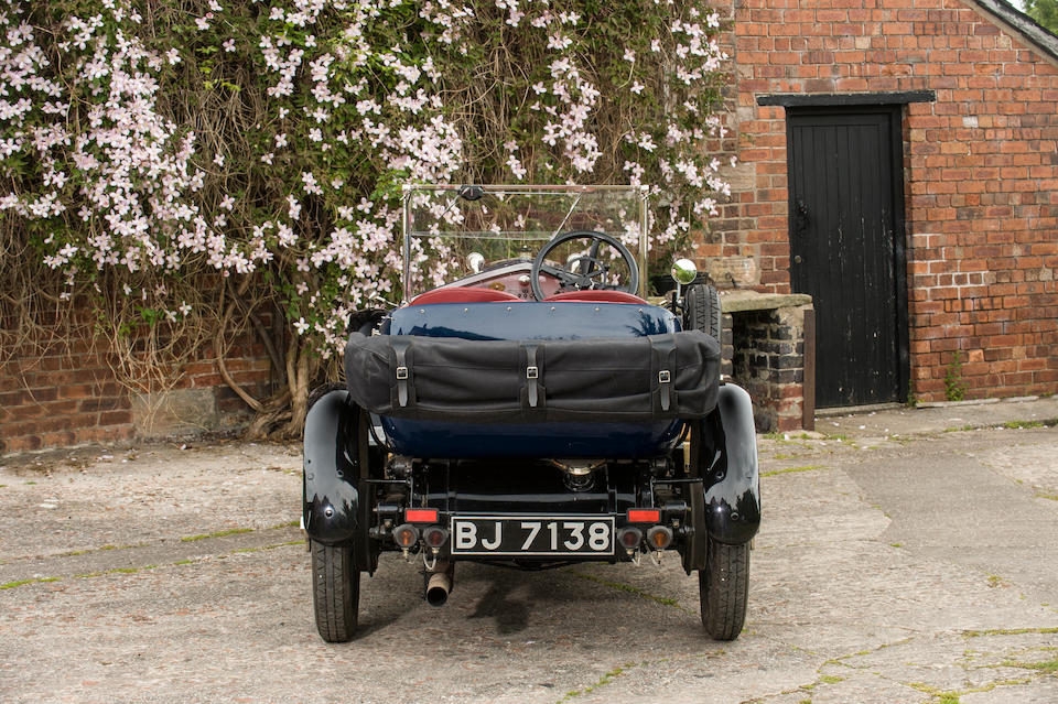 1921 Vauxhall 30/98 E-Type Tourer  Chassis no. E312 Engine no. E420