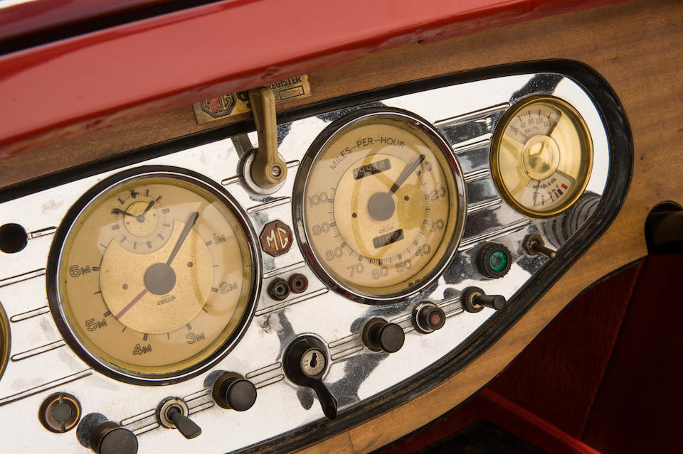 1938 MG VA Tourer  Chassis no. VA 1514 Engine no. TPBGA21594