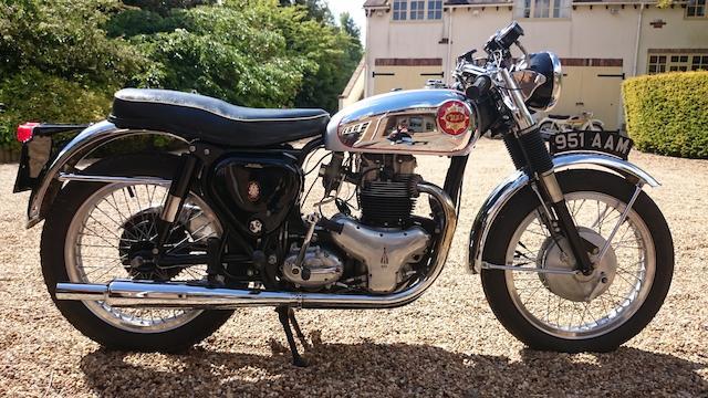 1962 BSA 650cc Rocket Gold Star Frame no. GA10 155 Engine no. DA10 R 7016