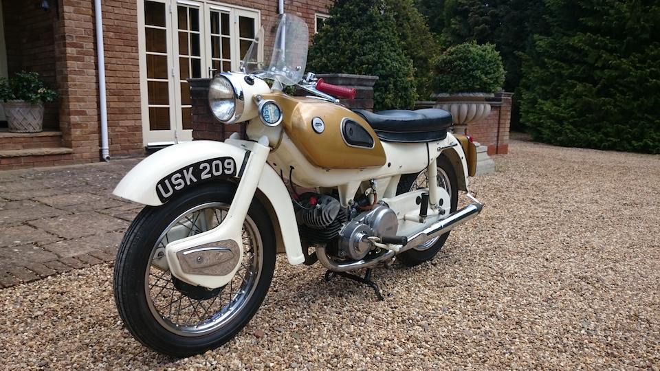 1962 Ariel 247cc Arrow Super Sports Frame no. T29830G Engine no. T29830G