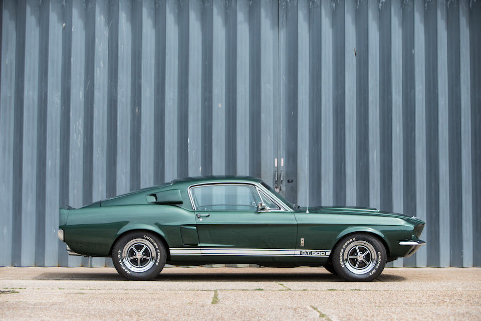1967 Ford Shelby Mustang GT500 Fastback Coupé  Chassis no. 67402F5U00425