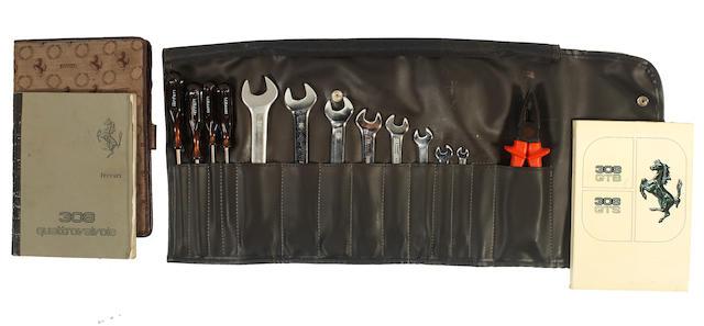 A Ferrari 308/246 tool roll, ((3))