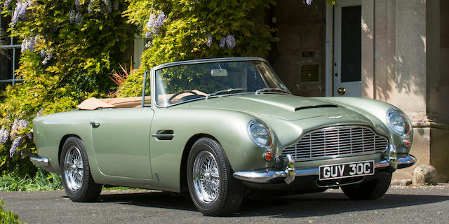 1965 Aston Martin DB5 Convertible  Chassis no. DB5/C/2119/R Engine no. 400/2273