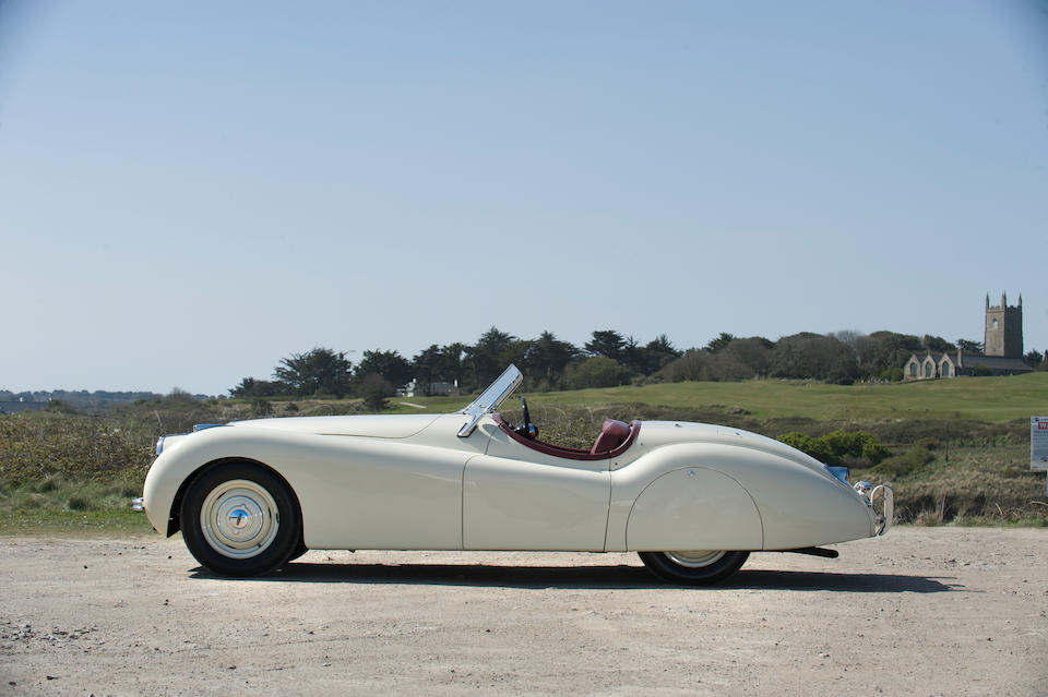 1950 Jaguar XK120 Roadster  Chassis no. 660065 Engine no. W1276-8