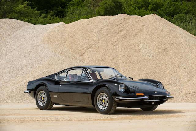 1972 Ferrari Dino 246GT Coupé  Chassis no. 03170 Engine no. 246GT 03170