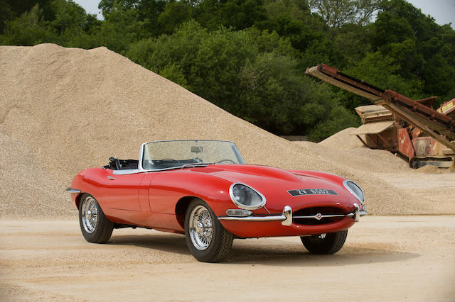 1966 Jaguar E-Type Series I 4.2-Litre Roadster  Chassis no. to be advised Engine no. 7E 13877-9