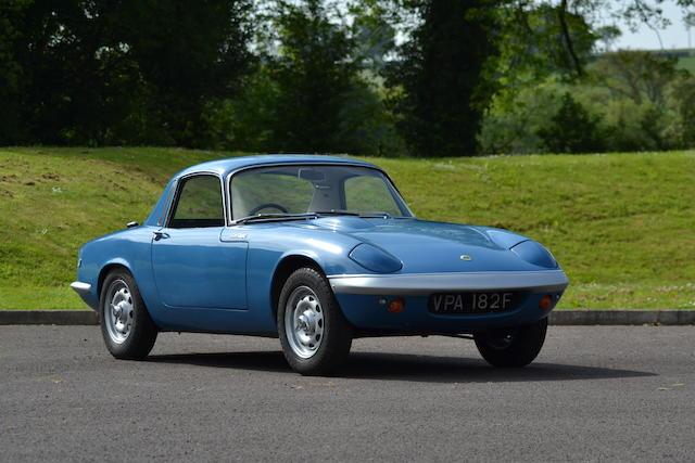 1968 Lotus Elan S3 Coupe  Chassis no. 7749 Engine no. LP 11551 LBA