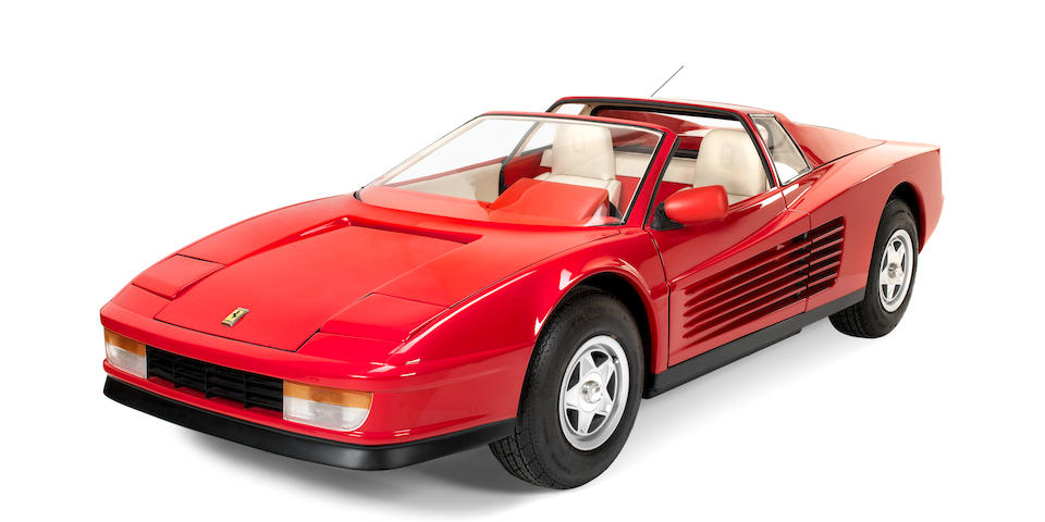 A superb 'Ferrari Testarossa' Junior by Agostini Auto, Italian, 1986