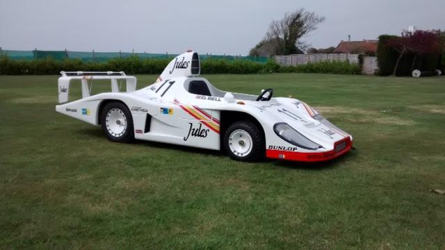 A Porsche 936 'Junior' Child's Car, the property of Derek Bell MBE,