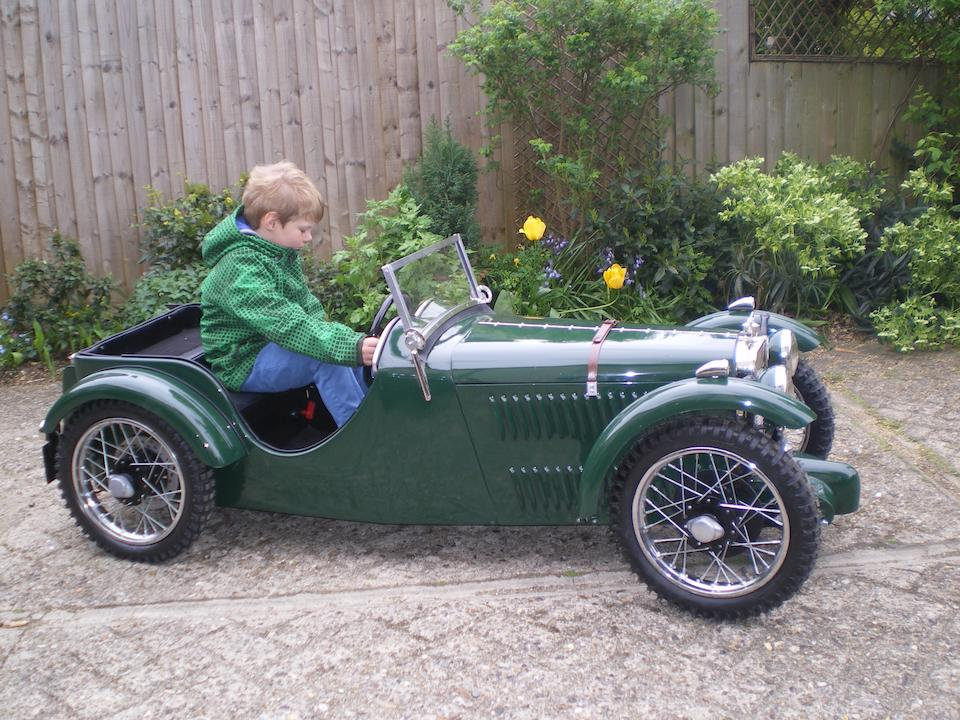 A J-Type MG electric powered child's car,
