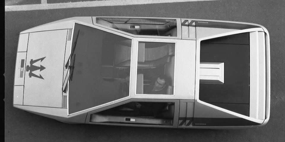 1972 Maserati  Boomerang   Chassis no. 081 Engine no. 902