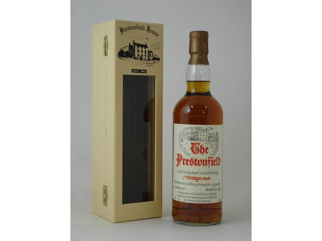 Bowmore (Prestonfield House)-22 year old-1965