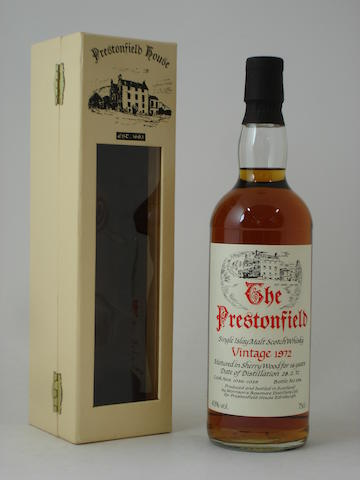 Bowmore (Prestonfield House)-16 year old-1972