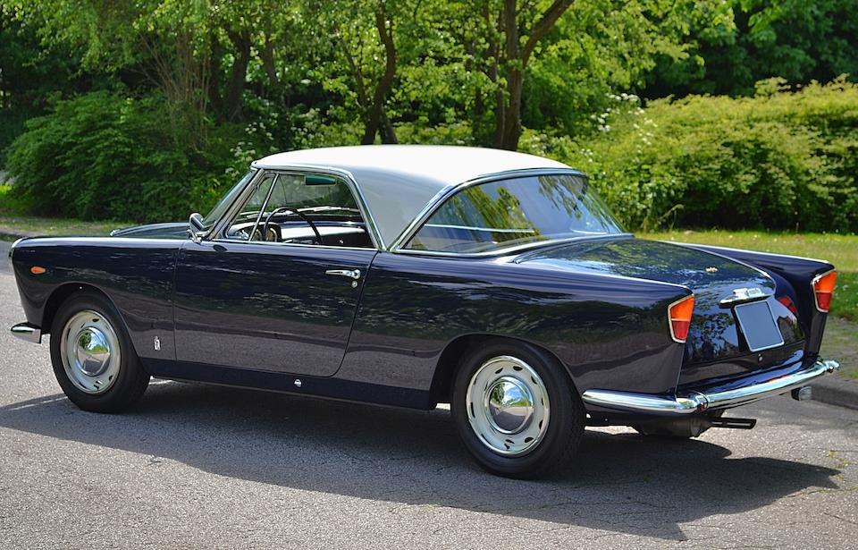 Pininfarina award winner at Concours d'Élégance Paleis het Loo,1958 Lancia Appia Coupé Chassis no. 812.01-2020 Engine no. 814.00-1692