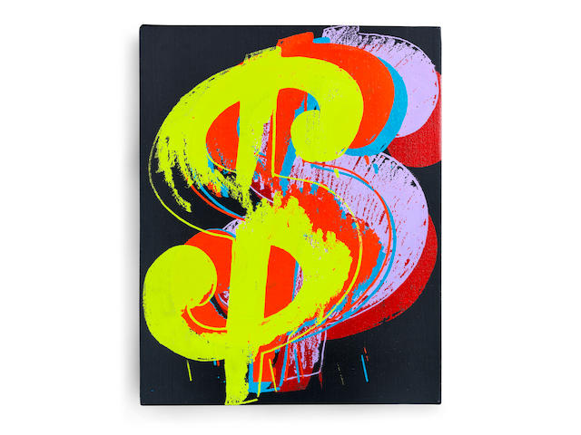 Andy Warhol (1928-1987) Dollar Sign 1982