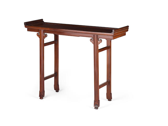 A huanghuali altar table